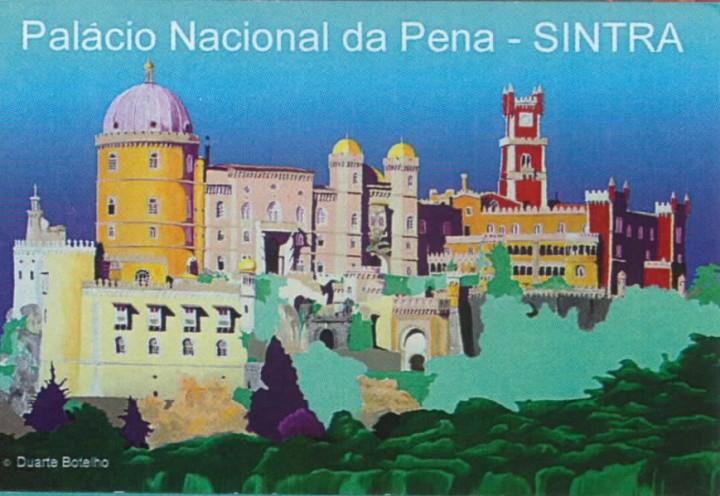 ÍMAN PALÁCIO DA PENA (SINTRA) - DUARTE BOTELHO
