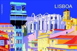 ÍMAN ELEVADOR DE STª JUSTA (LISBOA) - DUARTE BOTELHO