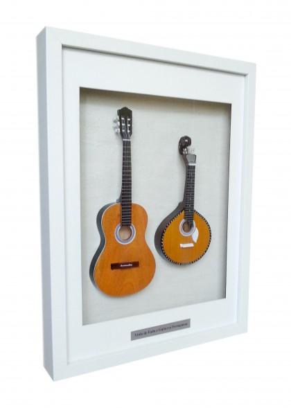 Moldura Guitarra Portuguesa e Viola de Fado