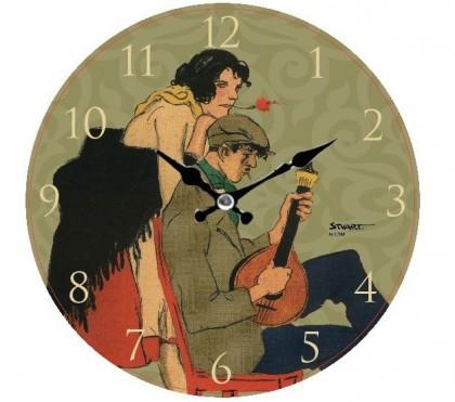 RELÓGIO DE PAREDE (WALL CLOCK) STUART CARVALHAIS