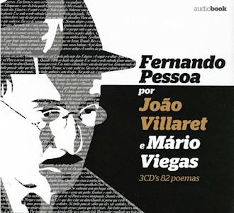 Fernando Pessoa por João Villaret e Mário Viegas 3CD (Audiobook)