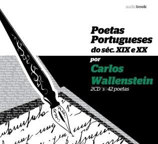 Poetas Portugueses dos Sec. XIX e XX por Carlos Wallenstein 2CD (Audiobook)
