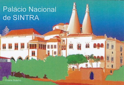 ÍMAN PALÁCIO DE SINTRA - DUARTE BOTELHO