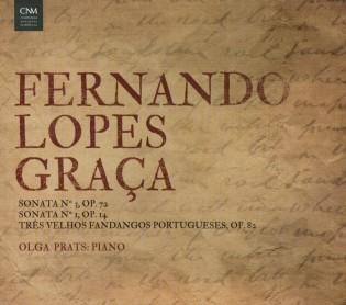 Lopes-Graça, FERNANDO * Sonata N.3, Op.72 / N.1, Op.14 / 3 Velhos Fandangos (PRATS, Olga)
