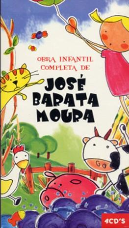 JOSÉ BARATA MOURA - OBRA INFANTIL COMPLETA (4CD+LIVRO)