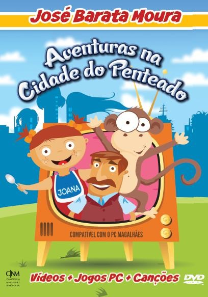 José Barata Moura - Aventuras na Cidade do Penteado DVD